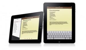 Enkelt att anteckna det du behöver i iPad