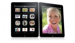 i Ipads bildprogram kan man enkelt bläddra igenom sina favoritbilder och spela upp bildspel med en fingertryckning.